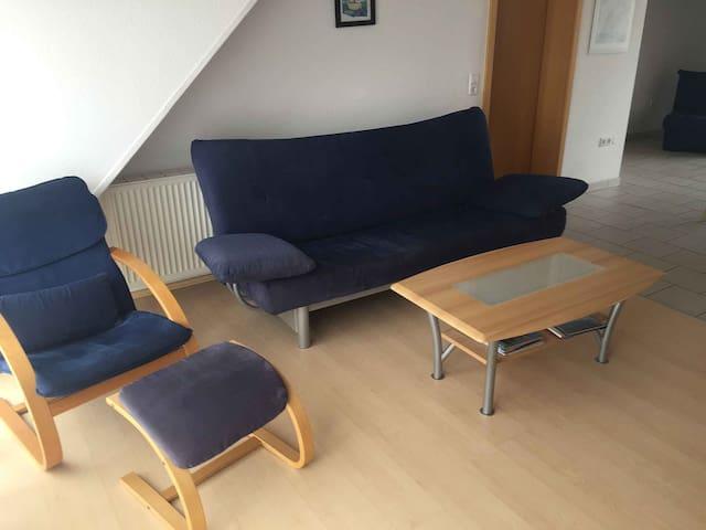 Obstbau Koch, (Bodman-Ludwigshafen), Ferienwohnung 2, 85qm, 2 Schlafzimmer, max. 6 Personen