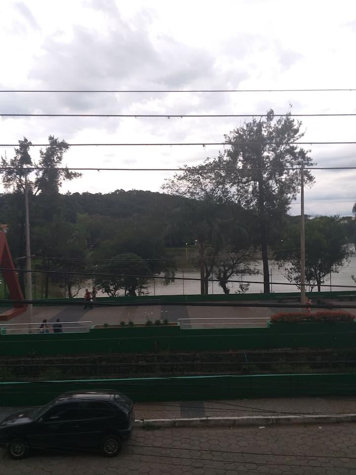 Apto no Centro da Cidade próximo Parque das Águas