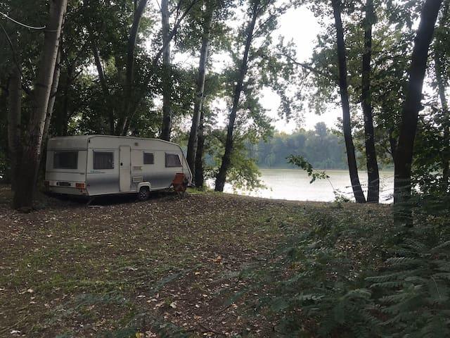 Tisza Beach Wild Camping 2