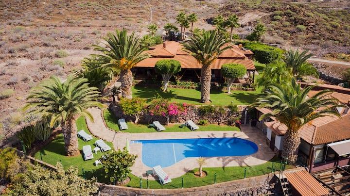 Casa con vistas espectaculares a La Gomera