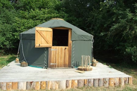 'Oak' Yurt in West Sussex countryside