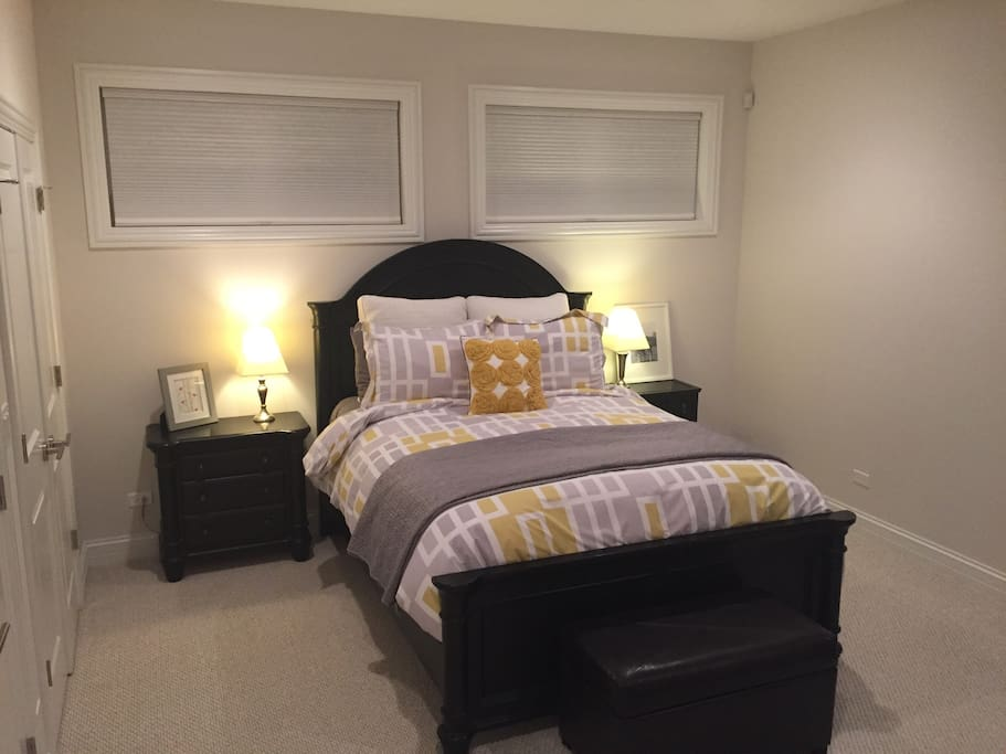 Very large, private bedroom