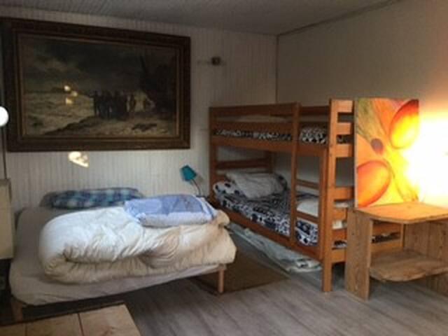 Maison d'artiste sur l'ile d'Hoedic