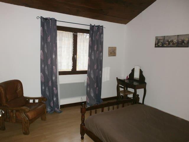 Los Albéjot - Granja - 2 habitación asientos