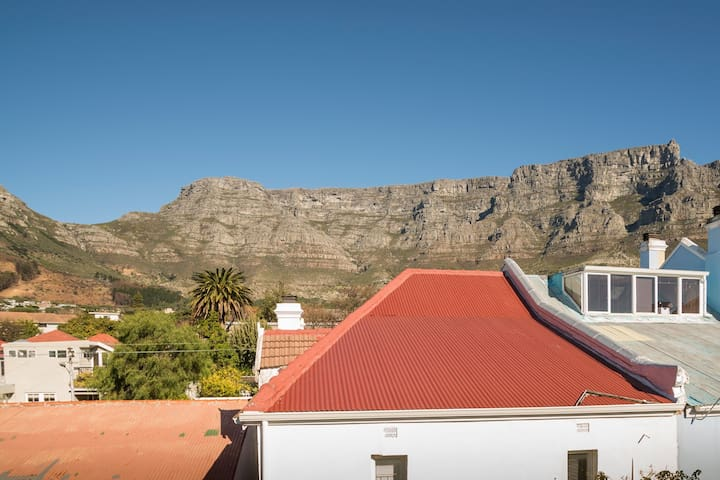 The Veranda – also with a view of Table Mountain