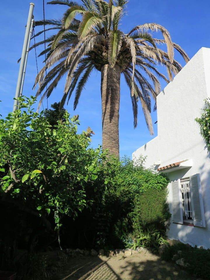 Casa playa con jardín privado