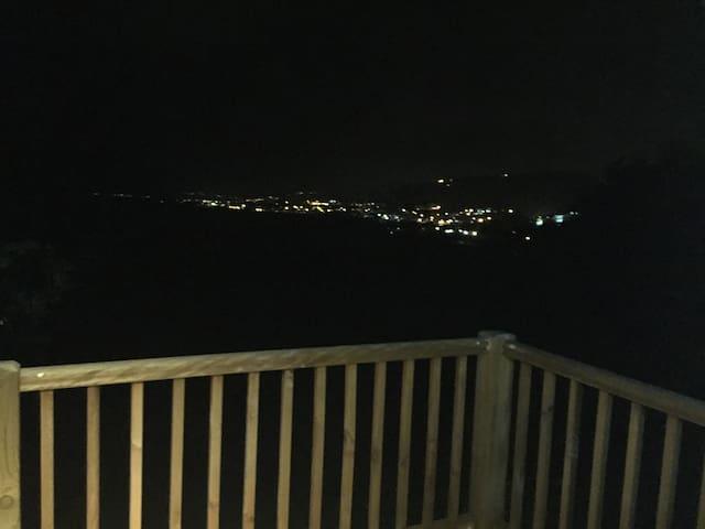 Vue balcon nuit