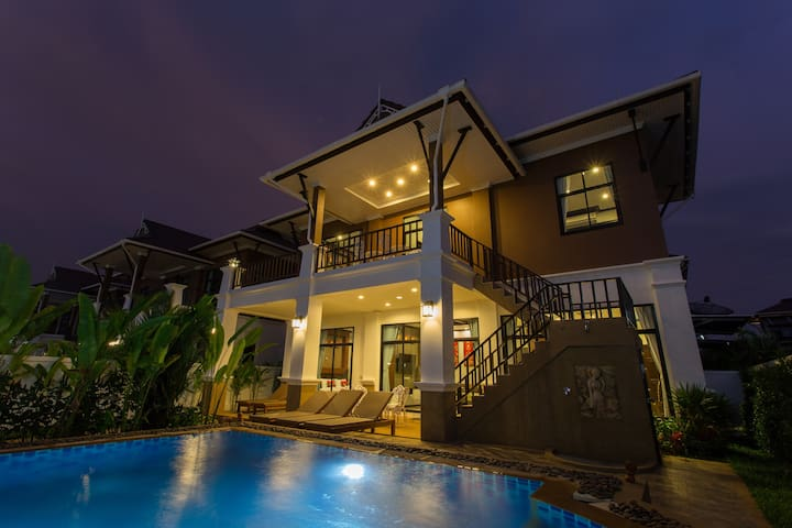 The Best Aonang Villas-3 - Aonang - Huis