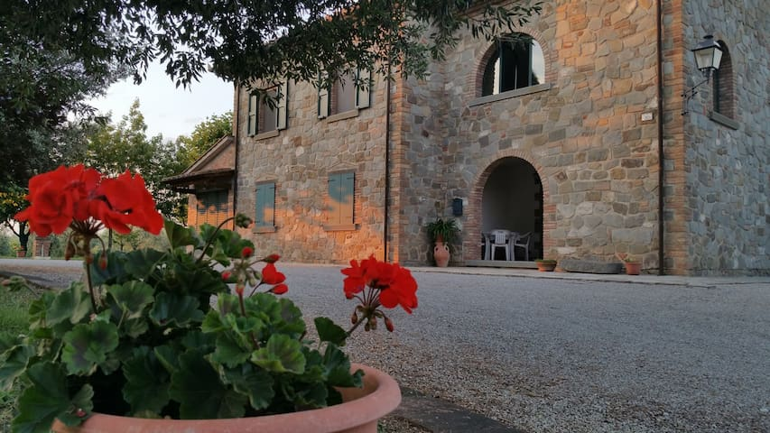 "Casa vacanze ""La Baldacchina"" - Cortona - Rumah"