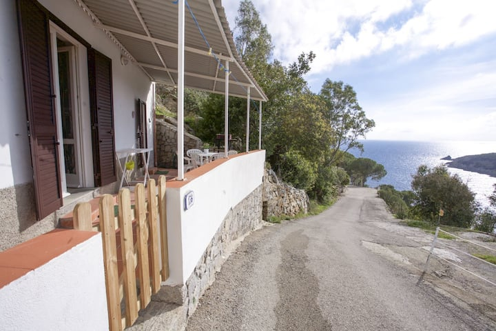 Two-room Costa Ovest in Fetovaia - Two-room 2/3 Beds near the beach of Fetovaia