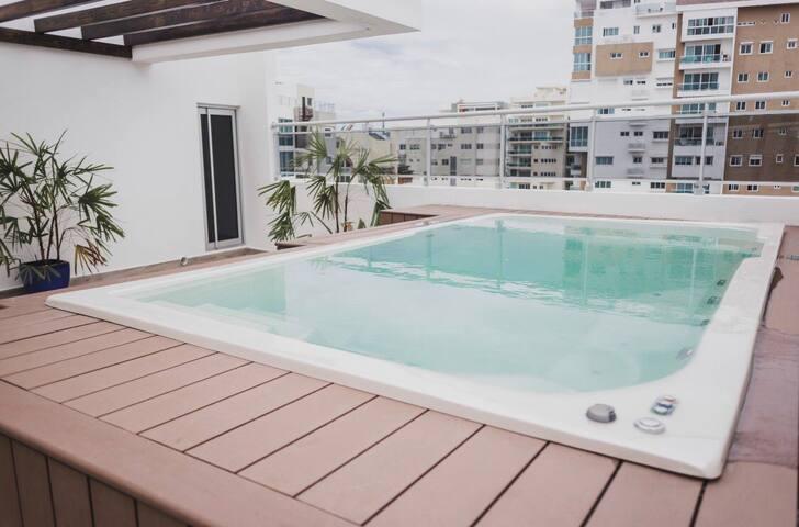 LUXURY 1 bedroom apartment in Naco.