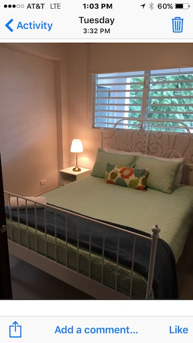 Comfy 2nd private bedroom