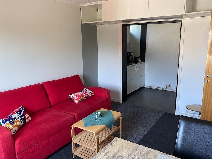 Egen lägenhet för arbete eller semester!