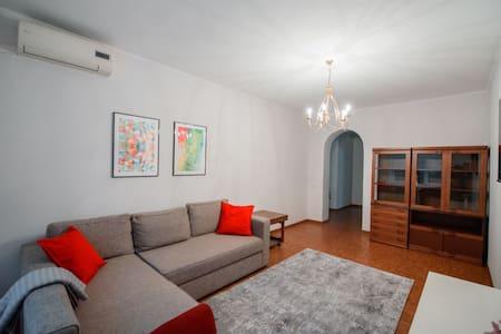 Красивая двух комнатня квартира в центре Алматы!!!