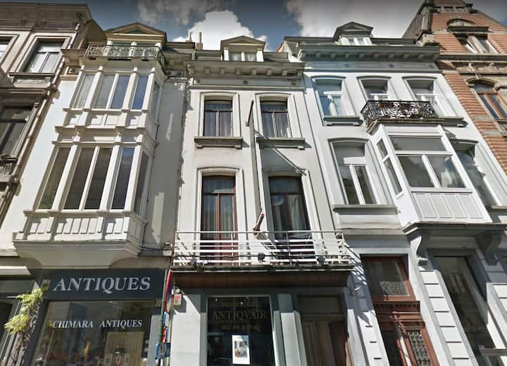 Charming centrally-located 1br in Sablon district