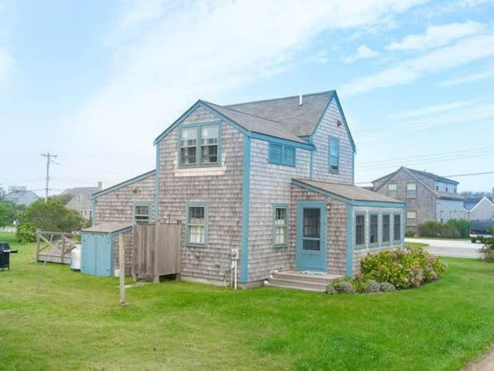 Nantucket home with panoramic ocean views.