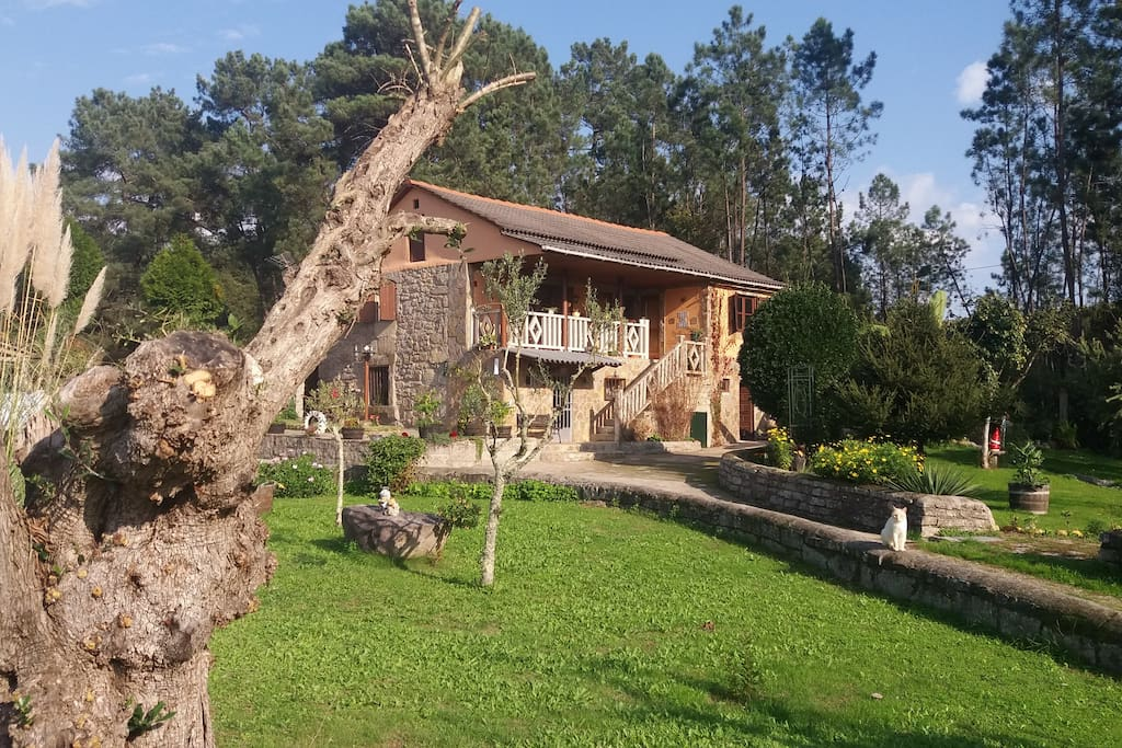 Casa con encanto mary houses for rent in cerca de vigo - Casas rurales galicia con encanto ...