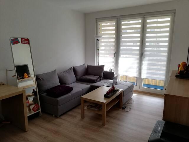 kleine aber feine Wohnung