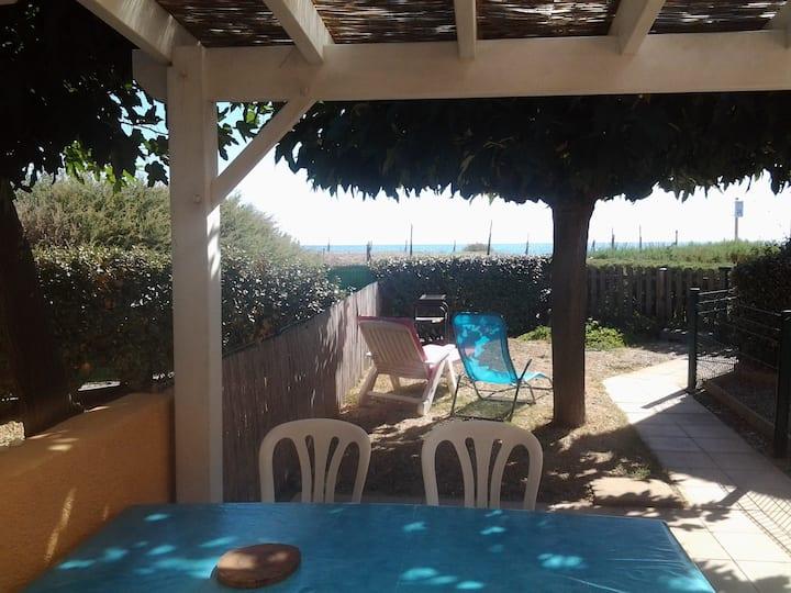 maison à 20m de la plage ambiance cocooning et zen