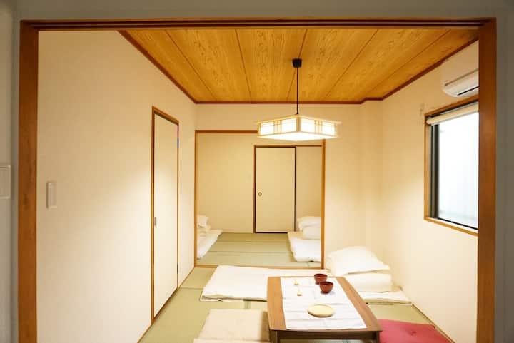 A house, Japanese style, near, Umeda 梅田駅 station