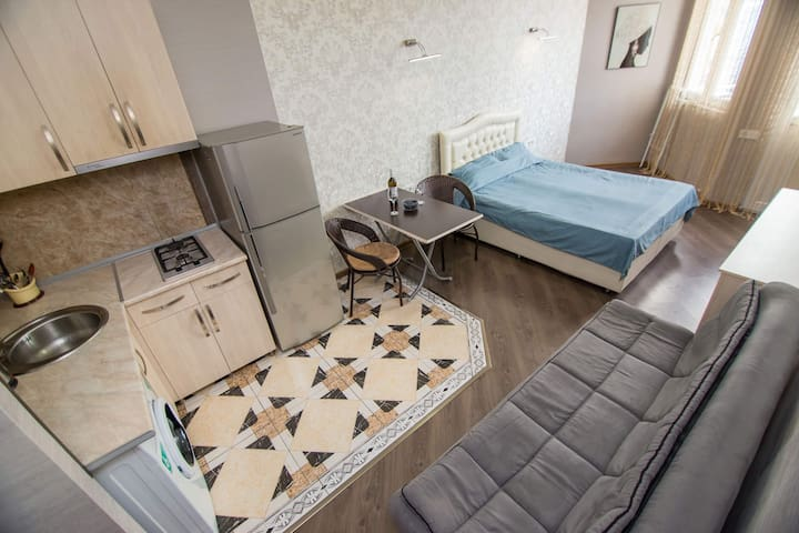 Apartments in city  center 3 min walk to the sea