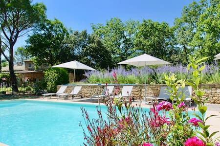 Mas de Veroncle, pool and peace in Gordes