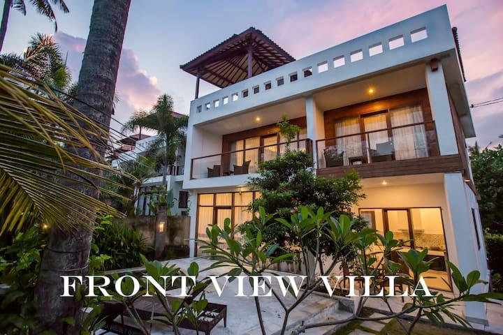 OCEAN VIEW 2-bedroom villa at Balian Beach