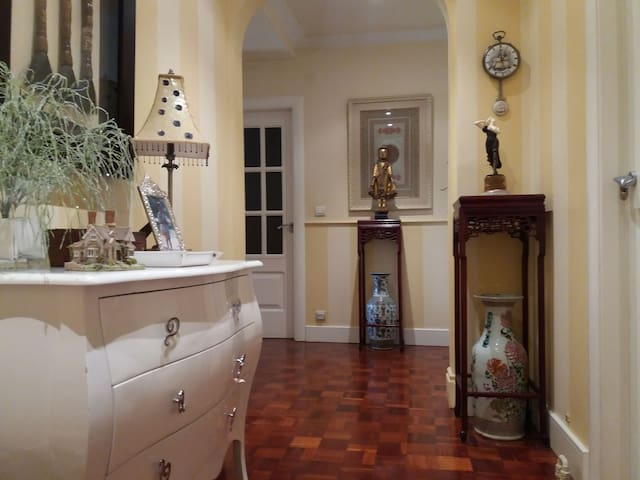 Recibidor de la casa.