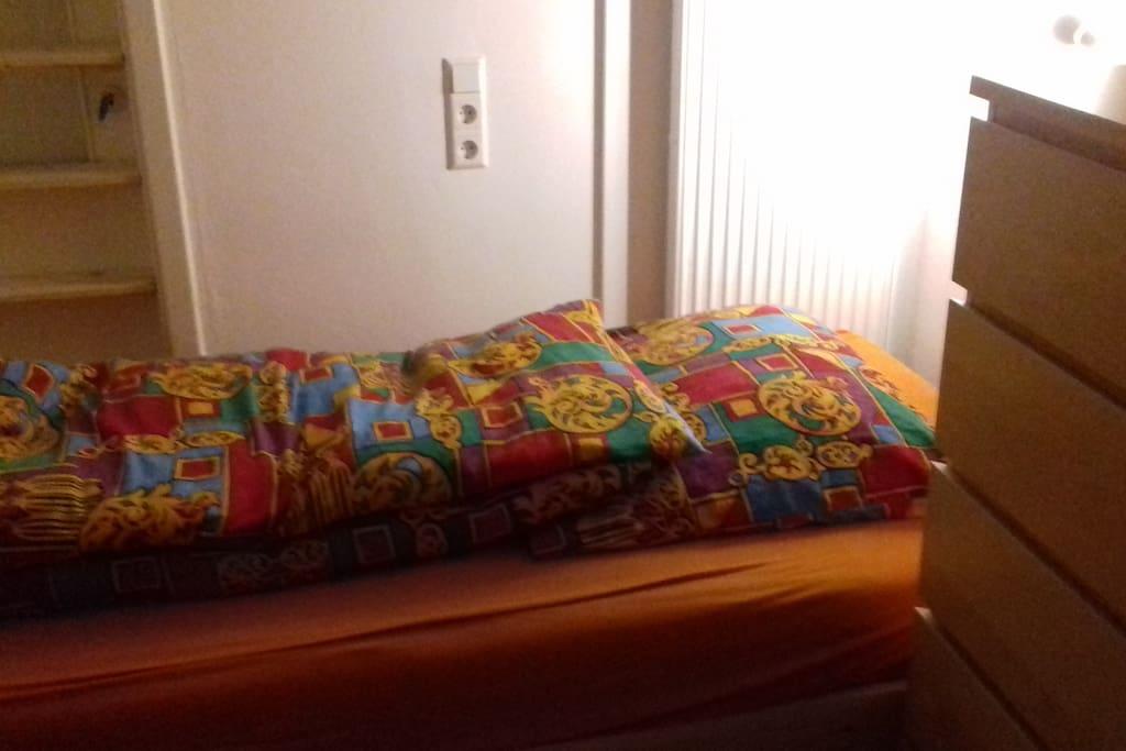 Das Bett ist schon gemacht!