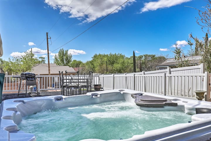 St. George Area Home w/ Hot Tub near Zion!