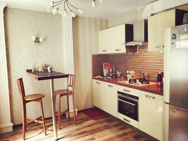Уютная квартира в Пушкине рядом с парками. Центр.