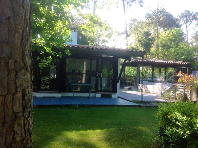 Bell villa ds grd jardin + piscine - Lège-Cap-Ferret - House