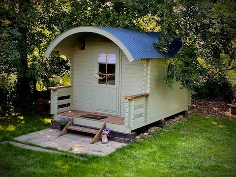 Shepherd 's Hut (Dawn) na fronteira Cornualha/Devon