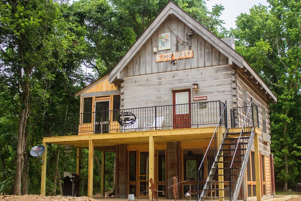 white river treehouse cabin cabins for rent in mountain
