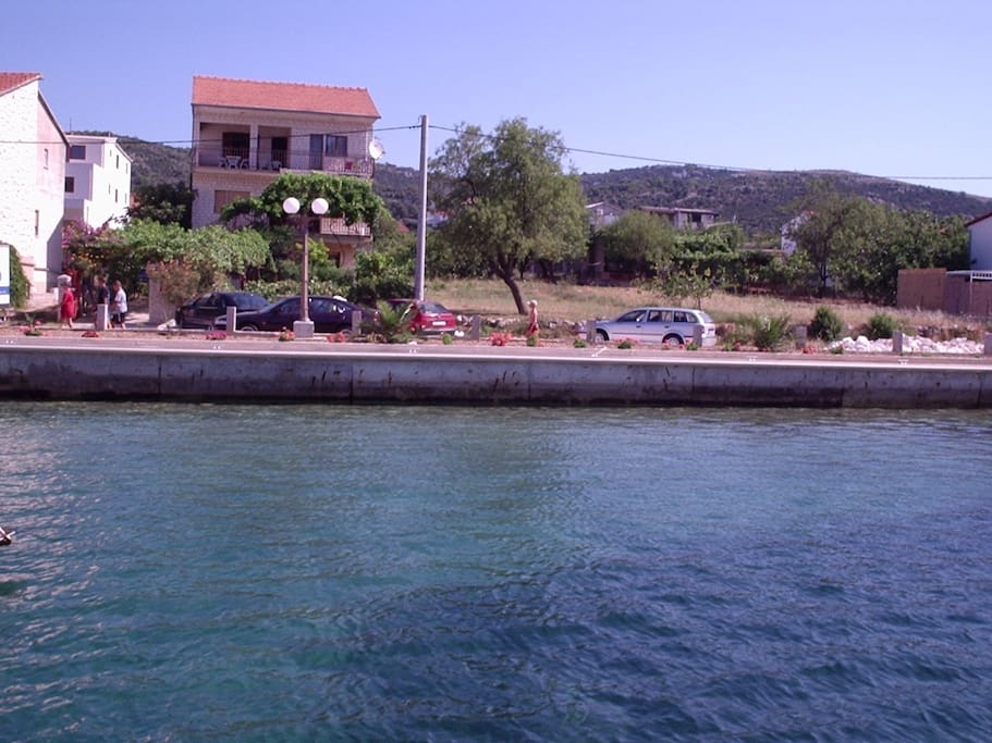Penthouse 10 meters from sea and beach