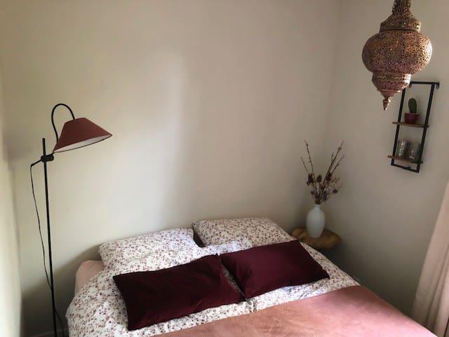slaapkamer 1,  2 x 1 persoonsbed