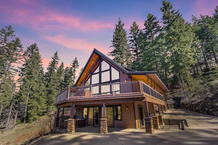 3rd Night FREE-Luxury Private Mountain Home | Amazing Views |Game Rm |Hot Tub