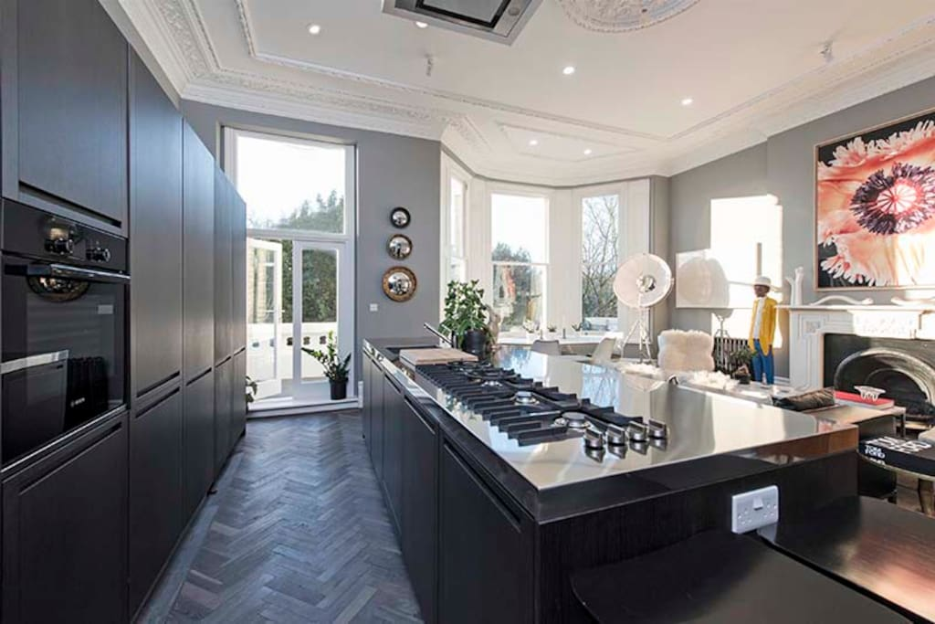 Boffi Designer Kitchen with gas hob