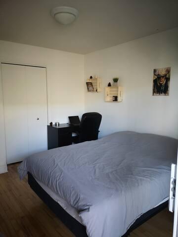 Belle chambre meublé dans bel appartement HOMA