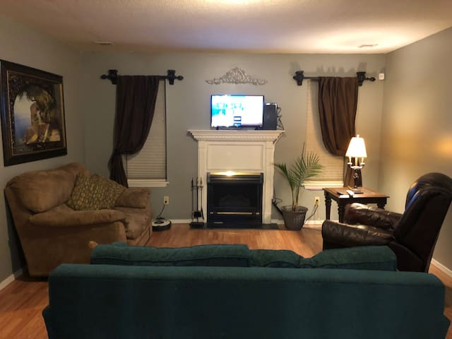 GREAT VALUE! DELUXE APT & WOODS 1 MILE FROM SQUARE
