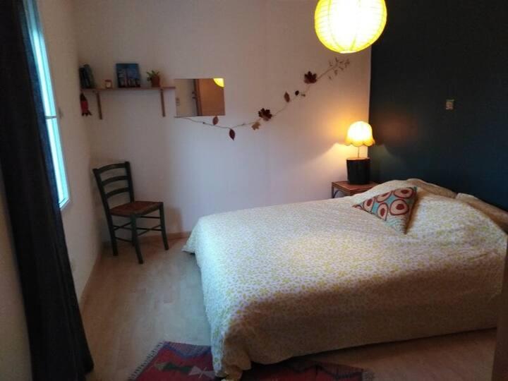 Chambre cosy et véranda