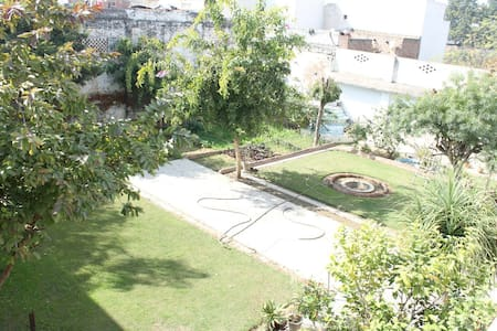 Patiala villa with a garden