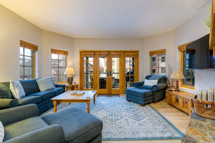 Whimsical Ski Condo Steps From Everything in Mountain Village: Village Peak at Westermere