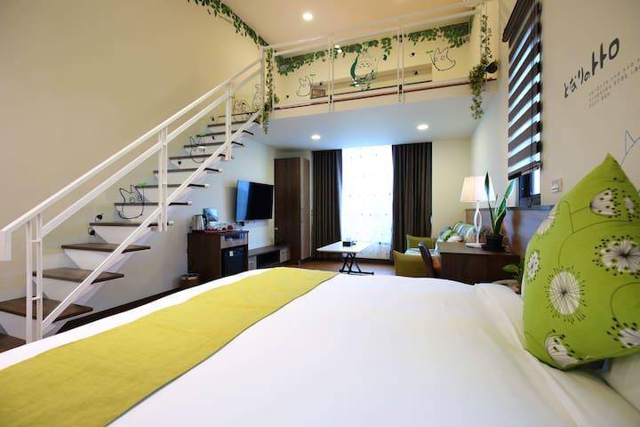 cloudscape   (Parental room) 雲起軒親子房 接送服務 附早餐 沙發床~ - Ji'an Township - อพาร์ทเมนท์