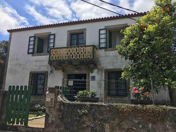 Casona rural gallega 8 personas pròxima a playas