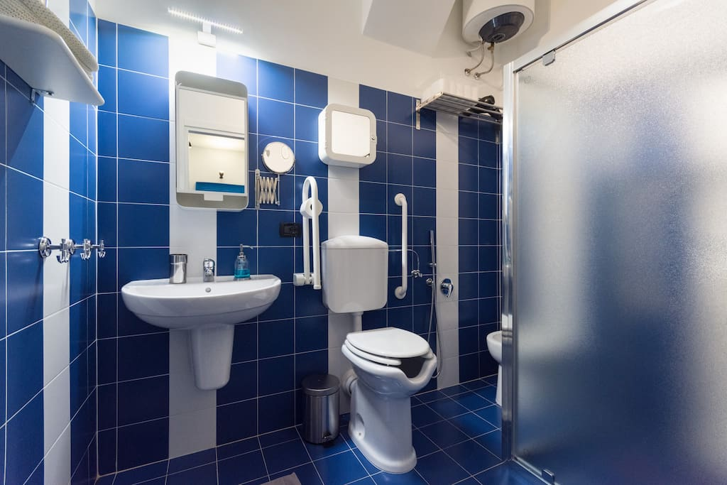 Large FULLY ACCESSIBLE bathroom