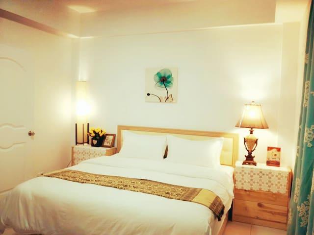金門金城市中心舒適典雅1.8米大床房(附早餐及碼頭、機場的接送)