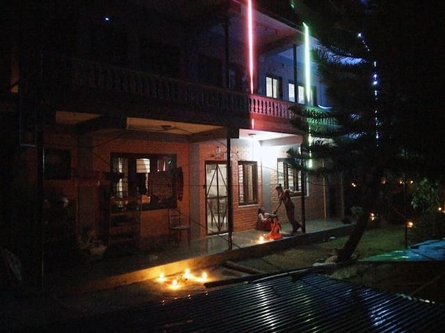 Ground floor apartment on garden and lake view - Pokhara - Rumah