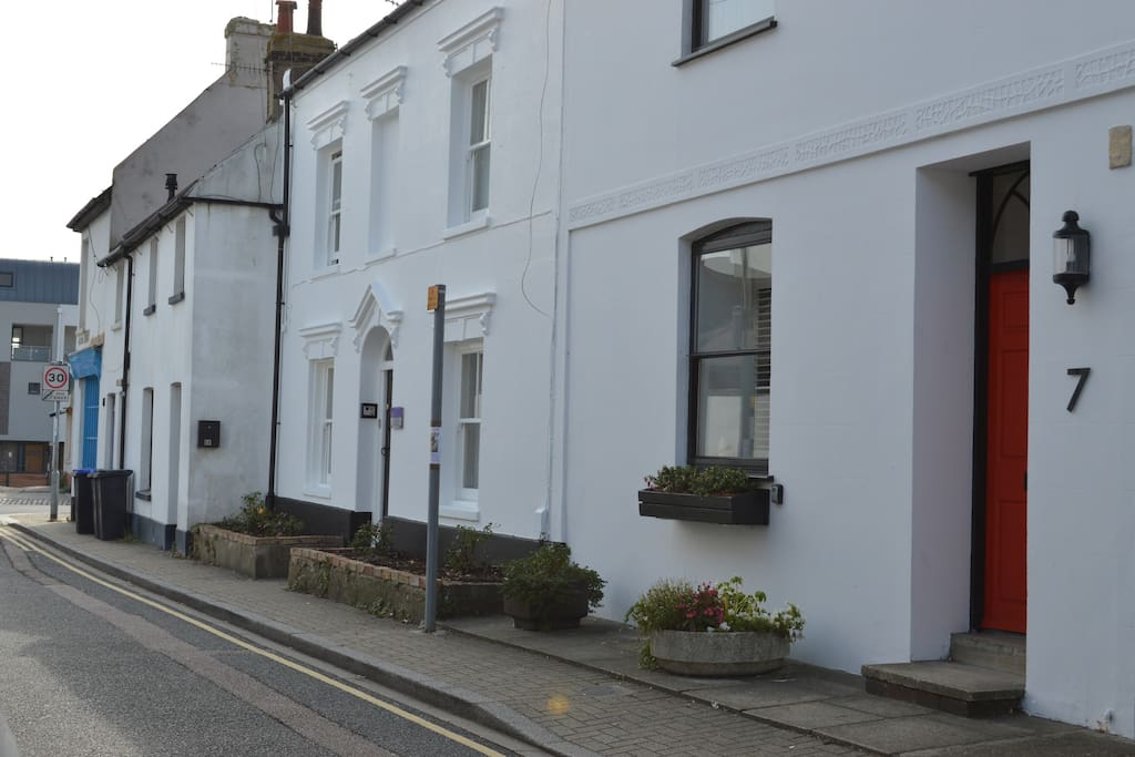 No 7 is just off the high street in Shoreham-By-Sea.