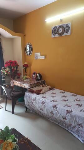 Soundarya pvt room near NCBS / GKVK/Manyatha